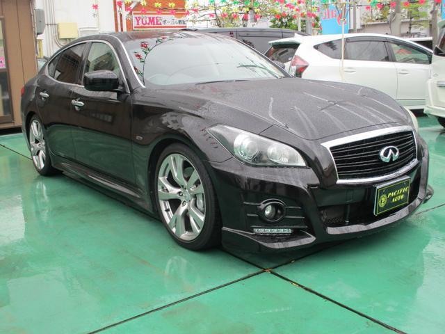 沖縄の中古車 日産 フーガ 車両価格 ASK リ済込 2009(平成21)年 10.4万km ブラック