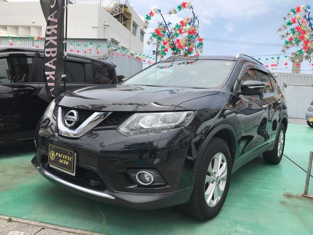 沖縄の中古車 日産 エクストレイル 車両価格 146万円 リ済込 2014(平成26)年 9.1万km ブラック