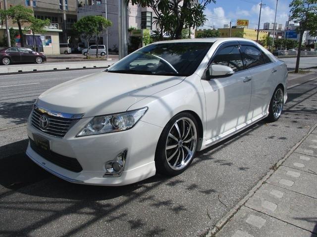 沖縄県の中古車ならカムリ ハイブリッド Gパッケージ サンルーフ