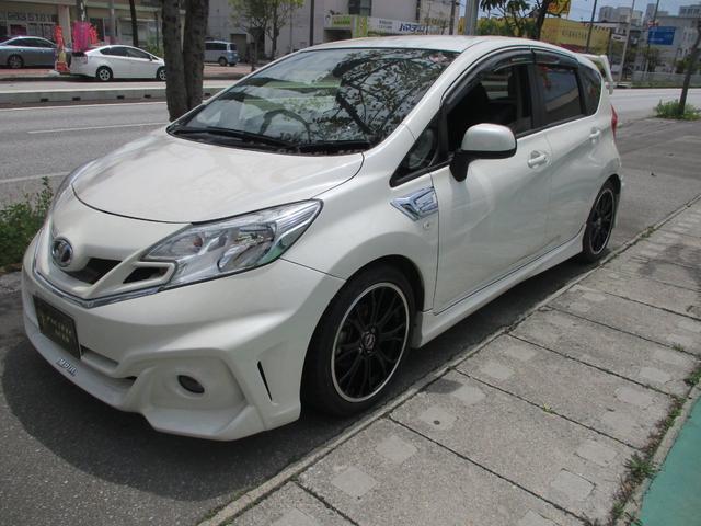沖縄県沖縄市の中古車ならノート X DIG-S インパルフルエアロ