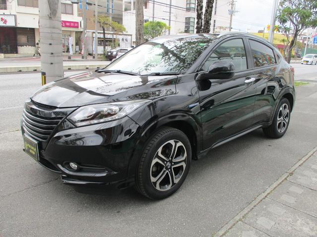 沖縄の中古車 ホンダ ヴェゼル 車両価格 169万円 リ済込 2015(平成27)年 7.5万km DブラックIII