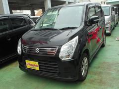 沖縄の中古車 スズキ ワゴンR 車両価格 54万円 リ済込 平成25年 12.8万K ブラックM
