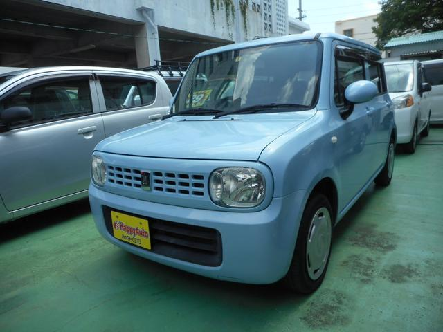 沖縄の中古車 スズキ アルトラパン 車両価格 39万円 リ済込 平成21年 9.6万km ライトブルーM