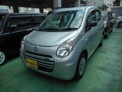 沖縄の中古車 スズキ アルトエコ 車両価格 35万円 リ済込 平成25年 12.5万K シルバーM