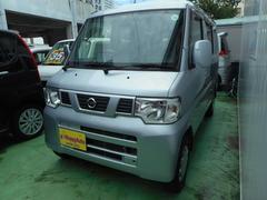 沖縄の中古車 日産 NV100クリッパーバン 車両価格 34万円 リ済込 平成24年 11.1万K シルバーM