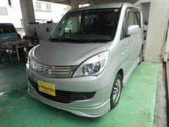 沖縄の中古車 スズキ ソリオ 車両価格 45万円 リ済込 平成23年 11.1万K シルバーM