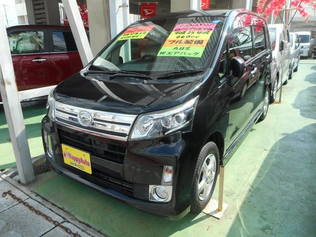 沖縄の中古車 ダイハツ ムーヴ 車両価格 69万円 リ済込 平成25年 11.1万km ブラックM