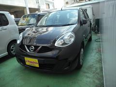 沖縄の中古車 日産 マーチ 車両価格 54万円 リ済込 平成28年 8.7万K パープルM