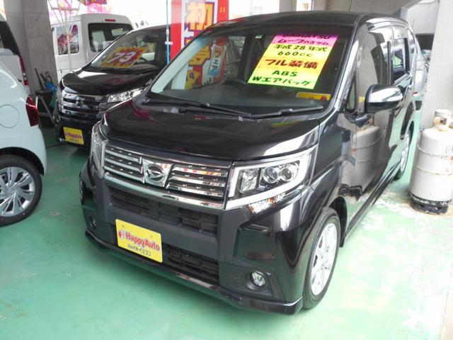 沖縄の中古車 ダイハツ ムーヴ 車両価格 89万円 リ済込 2016(平成28)年 9.0万km ブラックM