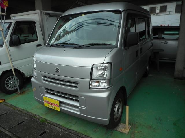 沖縄の中古車 スズキ エブリイ 車両価格 45万円 リ済込 平成24年 10.8万km シルバーM