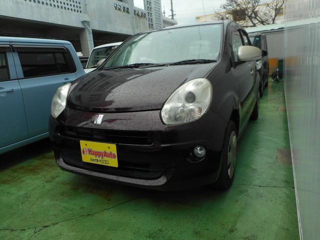 沖縄の中古車 トヨタ パッソ 車両価格 34万円 リ済込 2011(平成23)年 9.2万km ブラウンM