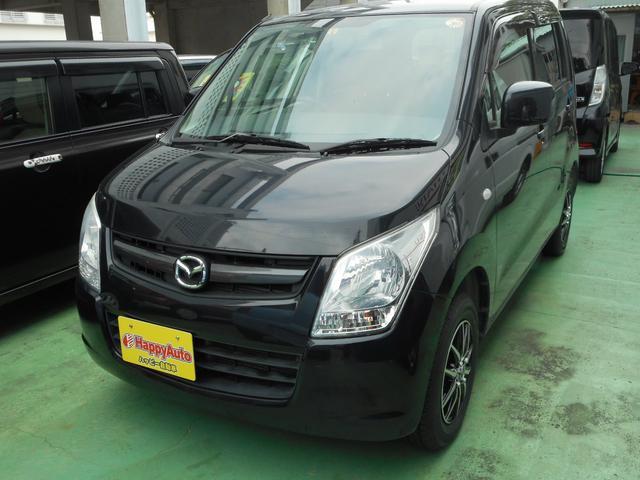 沖縄の中古車 マツダ AZワゴン 車両価格 39万円 リ済込 2012(平成24)年 9.4万km ブラックM