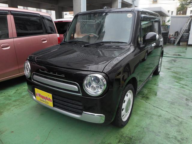 沖縄の中古車 スズキ アルトラパンショコラ 車両価格 69万円 リ済込 2013(平成25)年 9.2万km ブラウンM