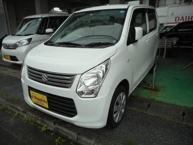沖縄の中古車 スズキ ワゴンR 車両価格 32万円 リ済込 2014(平成26)年 15.1万km ホワイト