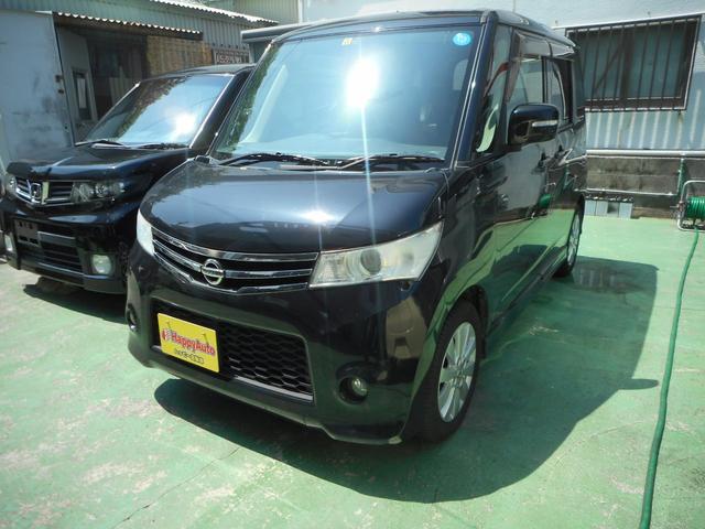 沖縄の中古車 日産 ルークス 車両価格 45万円 リ済込 2012(平成24)年 11.8万km ブラックM