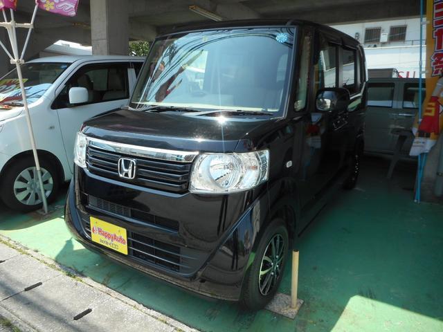 沖縄の中古車 ホンダ N-BOX 車両価格 65万円 リ済込 2012(平成24)年 9.4万km ブラックM