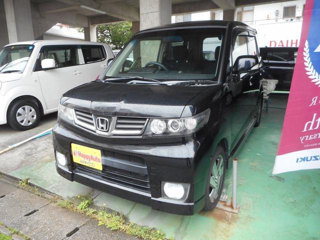 沖縄の中古車 ホンダ ゼストスパーク 車両価格 37万円 リ済込 2010(平成22)年 10.3万km ブラックM