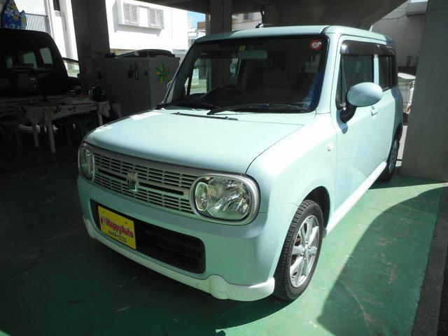沖縄の中古車 スズキ アルトラパン 車両価格 43万円 リ済込 2011(平成23)年 11.1万km LグリーンM