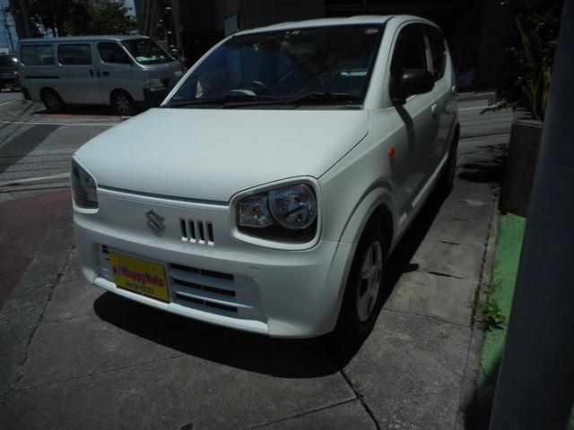 沖縄の中古車 スズキ アルト 車両価格 43万円 リ済込 2016(平成28)年 6.2万km ホワイト