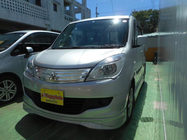 沖縄の中古車 三菱 デリカD:2 車両価格 35万円 リ済込 2013(平成25)年 12.2万km シルバーM