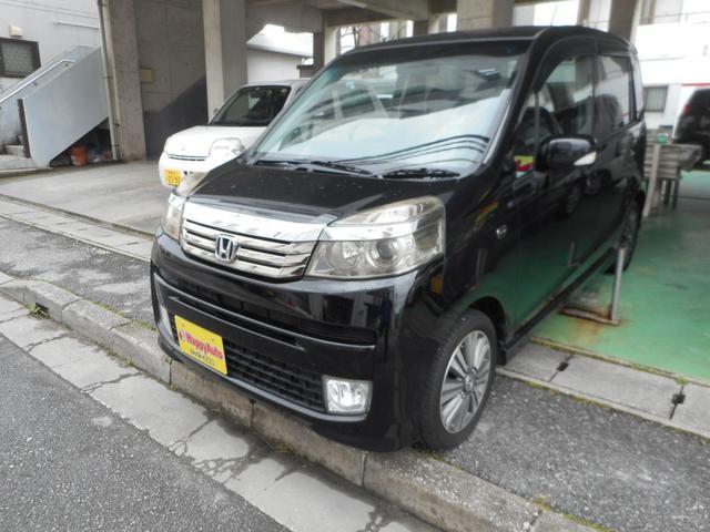沖縄の中古車 ホンダ ライフ 車両価格 37万円 リ済込 2011(平成23)年 13.1万km ブラックM