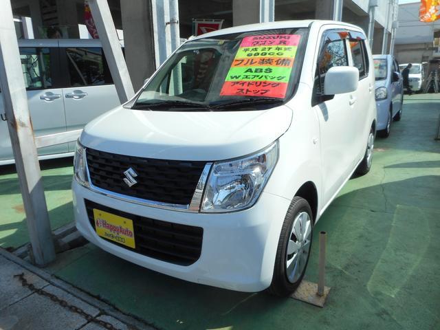 沖縄の中古車 スズキ ワゴンR 車両価格 35万円 リ済込 2015(平成27)年 12.5万km ホワイト