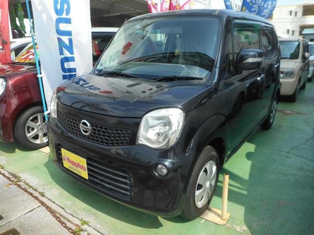 沖縄の中古車 日産 モコ 車両価格 34万円 リ済込 2012(平成24)年 11.0万km ブラックM
