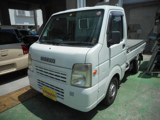 沖縄の中古車 スズキ キャリイトラック 車両価格 35万円 リ済込 2009(平成21)年 12.8万km ホワイト