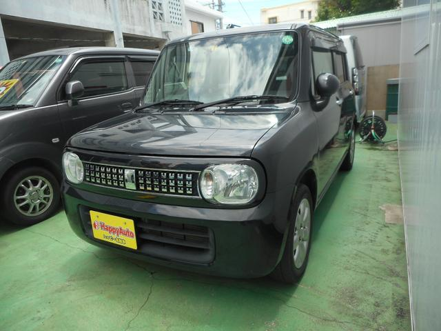 沖縄の中古車 スズキ アルトラパン 車両価格 55万円 リ済込 2015(平成27)年 11.2万km ブラックM