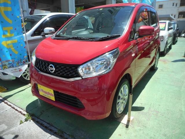 沖縄の中古車 日産 デイズ 車両価格 39万円 リ済込 2014(平成26)年 10.7万km レッドM