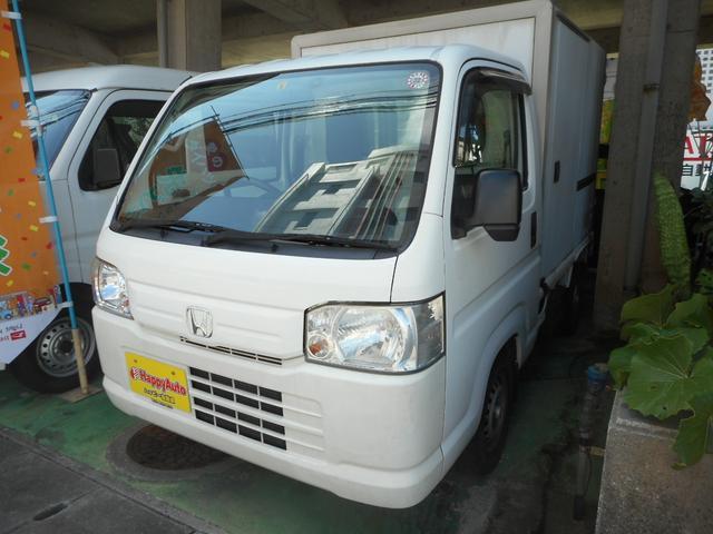 沖縄の中古車 ホンダ アクティトラック 車両価格 39万円 リ済込 2013(平成25)年 18.2万km ホワイト
