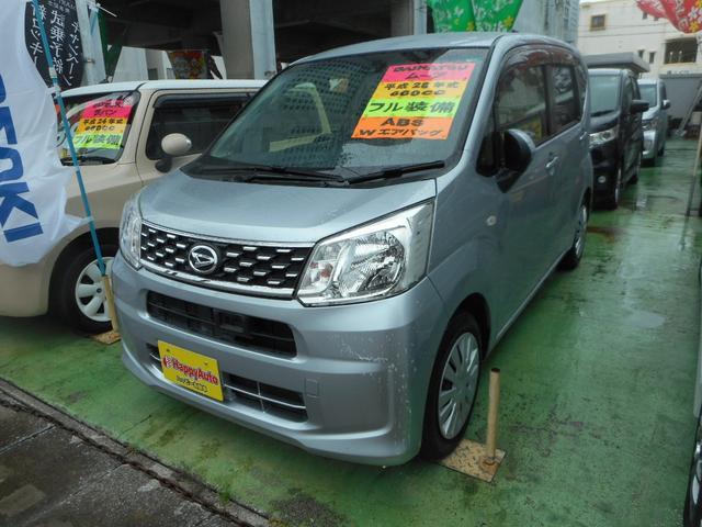 沖縄の中古車 ダイハツ ムーヴ 車両価格 45万円 リ済込 2016(平成28)年 11.1万km シルバーM