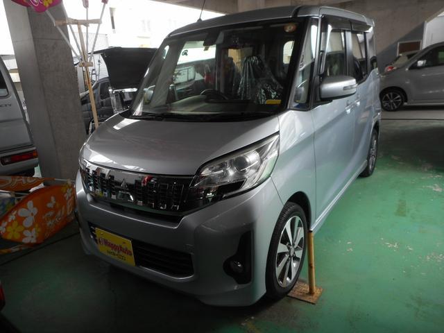 沖縄県の中古車ならeKスペースカスタム カスタムT e-アシスト