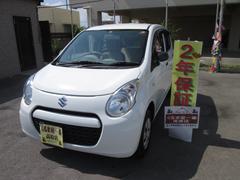 沖縄の中古車 スズキ アルト 車両価格 39万円 リ済込 平成25年 4.6万K ホワイト