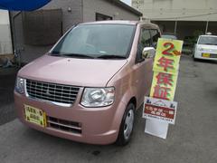 沖縄の中古車 三菱 eKワゴン 車両価格 35万円 リ済込 平成22年 5.6万K ピンク