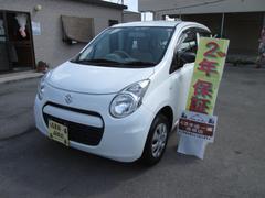 沖縄の中古車 スズキ アルト 車両価格 39万円 リ済込 平成25年 4.5万K ホワイト