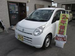 沖縄の中古車 スズキ アルト 車両価格 19万円 リ済込 平成22年 4.7万K ホワイト