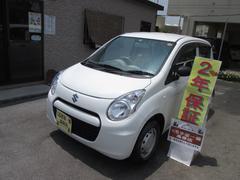 沖縄の中古車 スズキ アルト 車両価格 40万円 リ済込 平成25年 4.6万K ホワイト