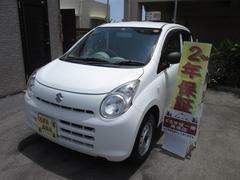 沖縄の中古車 スズキ アルト 車両価格 28万円 リ済込 平成24年 6.1万K ホワイト