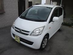 沖縄の中古車 ダイハツ ムーヴ 車両価格 21万円 リ済込 平成20年 9.7万K ホワイト