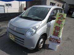 沖縄の中古車 スズキ アルト 車両価格 25万円 リ済込 平成23年 7.4万K グレー