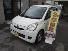 沖縄の中古車 ダイハツ ミラ 車両価格 16万円 リ済込 平成21年 6.2万K ホワイト