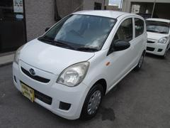 沖縄の中古車 ダイハツ ミラ 車両価格 20万円 リ済込 平成20年 6.2万K ホワイト