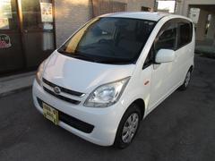 沖縄の中古車 ダイハツ ムーヴ 車両価格 20万円 リ済込 平成20年 10.5万K ホワイト