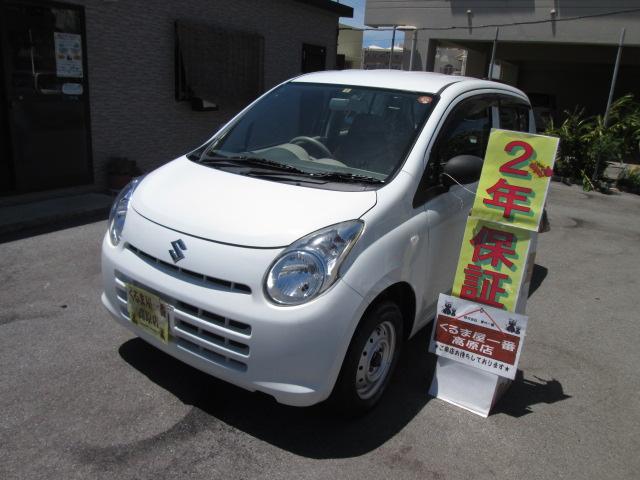 沖縄の中古車 スズキ アルト 車両価格 26万円 リ済込 平成24年 3.6万km ホワイト