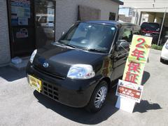 沖縄の中古車 ダイハツ エッセ 車両価格 27万円 リ済込 平成23年 6.0万K ブラック