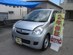 沖縄の中古車 ダイハツ ミラ 車両価格 23万円 リ済込 平成24年 6.5万K グレー