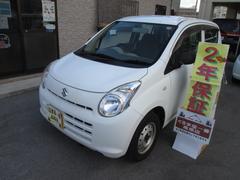 沖縄の中古車 スズキ アルト 車両価格 19万円 リ済込 平成22年 6.5万K ホワイト