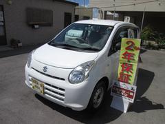 沖縄の中古車 スズキ アルト 車両価格 22万円 リ済込 平成23年 6.2万K ホワイト