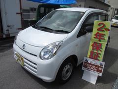 沖縄の中古車 スズキ アルト 車両価格 22万円 リ済込 平成23年 5.0万K ホワイト